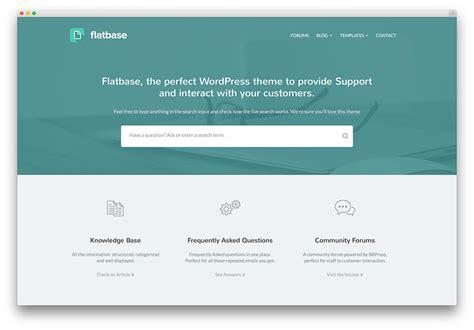 free wordpress themes knowledge base 10 best knowledge base wiki faq support ticket