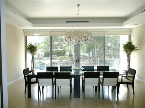 Dining Room At The Modern Dining Room Luxury Modern Home Dining Rooms Interior Decorating Igf Usa