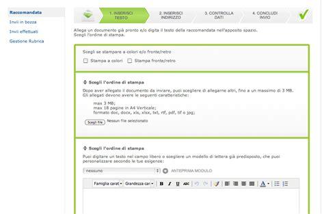 banco poste on line privati come inviare una raccomandata a r