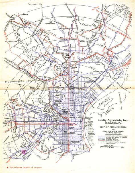 philadelphia subway map philadelphia transit map 1940 subways and trolleys transit philadelphia and maps