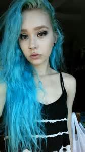 ion color brilliance cyan blue hair ali3nchildr3n