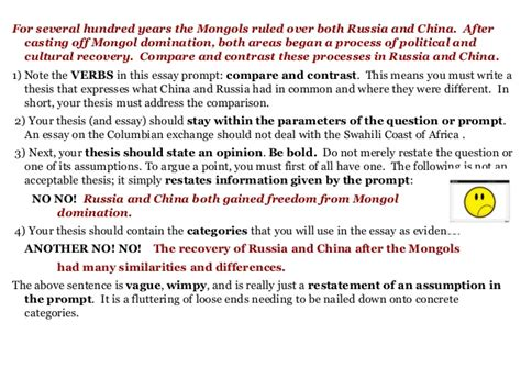 Mongolian Culture Essay by Ap World History Compare And Contrast Essay Mongols Druggreport820 Web Fc2