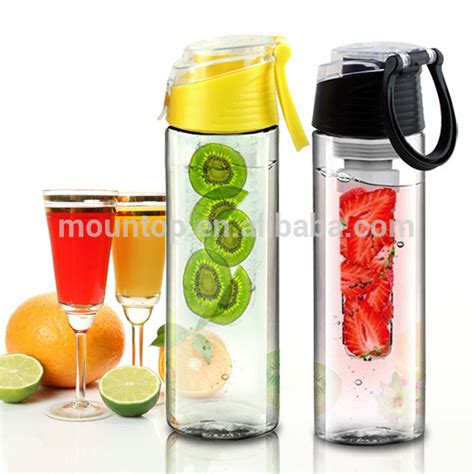 Plastic Detox by Eco Friendly 25oz Detox Water Bottle Infuser 2016 New