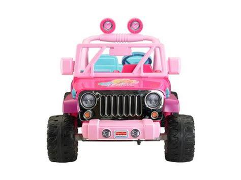 Walmart Power Wheels Jeep Fisher Price Power Wheels Jammin Jeep Wrangler