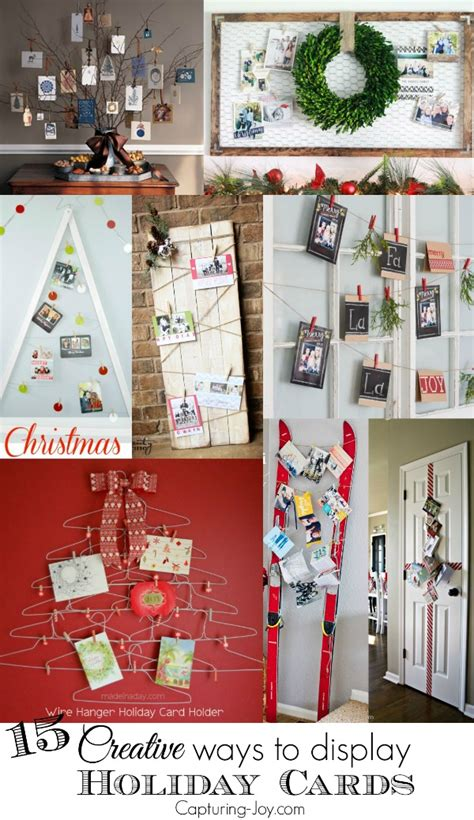 how to display christmas cards 15 creative ways to display holiday cards