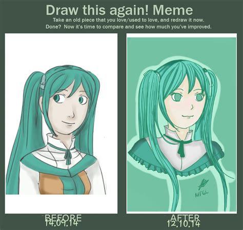 Michaela Meme - draw it again meme michaela by metatf on deviantart