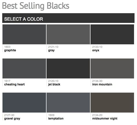 favorite popular best selling shades of brown paint best selling popular shades of black dark neutral