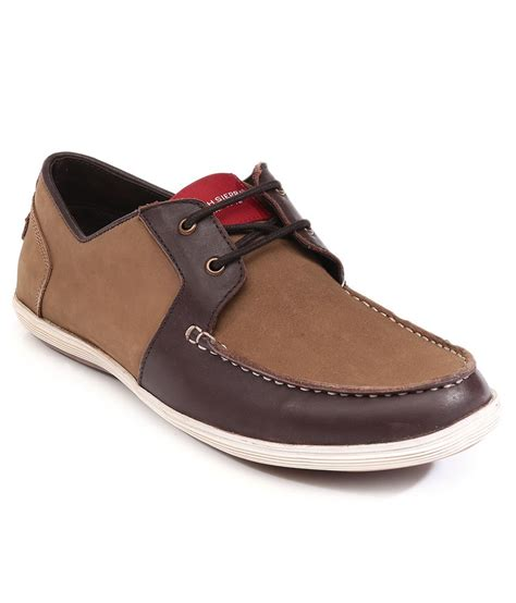 shoes deals high camel brown casual shoes snapdeal price
