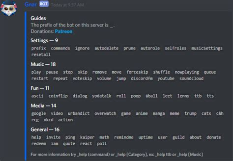 discord command list how to add bot in discord channel choice image how to