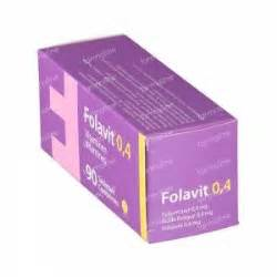 Tablet Folavit folavit 0 4mg folic acid 90 tablets order