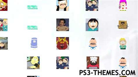 themes unlimited ps3 themes 187 south park unlimited