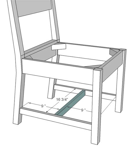 simple wooden chair plans white classic chairs made simple diy projects