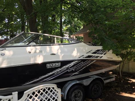 yamaha jet boat high output yamaha sx230 high output jet boat 2008 for sale for