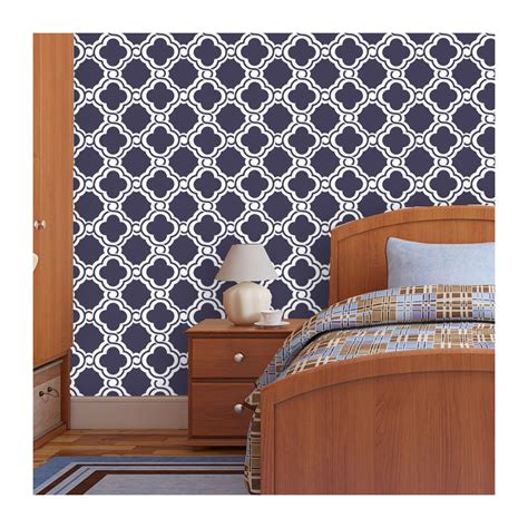 wall pattern sheets wall stencil moroccan allover pattern iris set 2 sheets