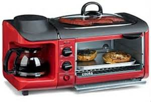 Rotisserie Toaster Cooks 3 In 1 Breakfast Centre Is A Portable Mini Kitchen