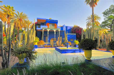 garten yves laurent marrakech majorelle gardens the park that inspired yves