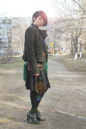 Bershka Jacket Army black silk incity skirts army green wool bershka jackets