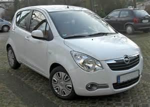 Opel Agila 2009 Deflettori Antiturbo Porte Anteriori Opel Agila B 5