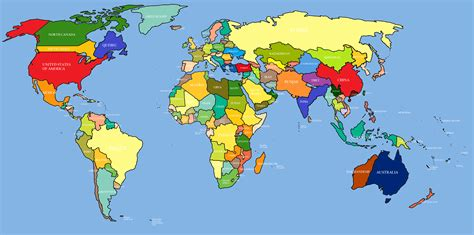 world map with country name hd wallpaper world map hd classywallpapers