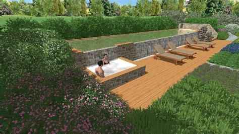 giardini con piscina progettazione di giardino con piscina in maremma 1