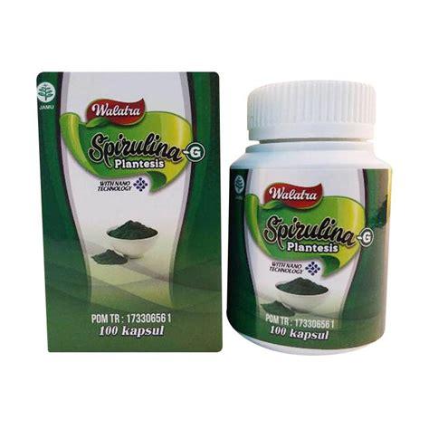 Suplemen Spirulina Jual Walatra Spirulina Plantesis Suplemen Kesehatan