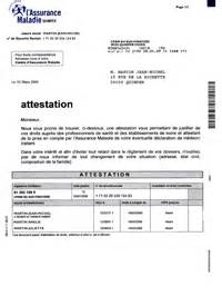 attestation affiliation s 195 169 curit 195 169 sociale