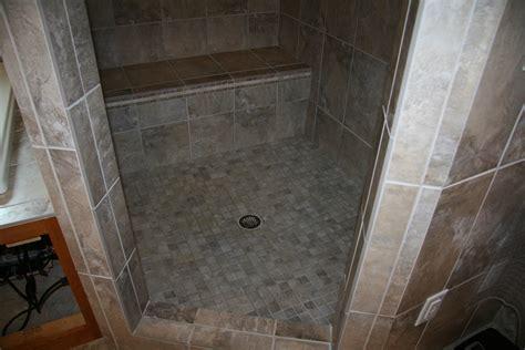 Floor Mud by Tile Shower With Mud Set Floor Buffalo Minnestoa 171