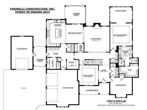 construction house plans harrisburg home builderfarinelli construction inc