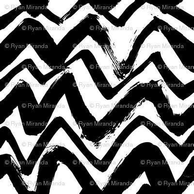 pattern brush zig zag zigzag brush stroke fabric mindoverpattern spoonflower