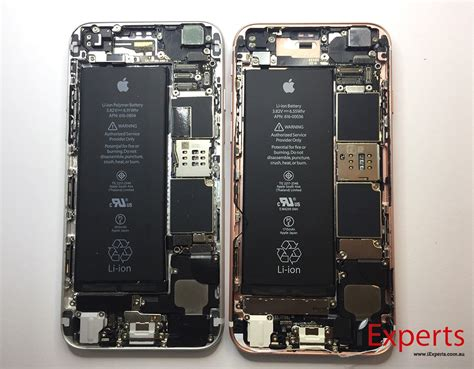 teardown the guts of an apple iphone 6s