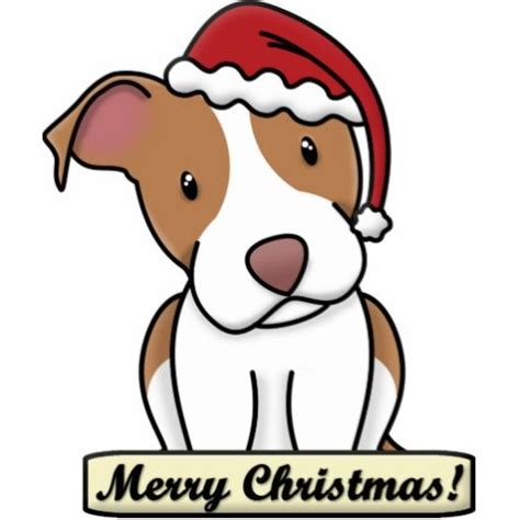 cartoon pitbull american staffordshire terrier photo cutout  clipart  clipart