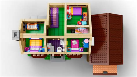 simpsons house simpsons lego house officially revealed the toyark news