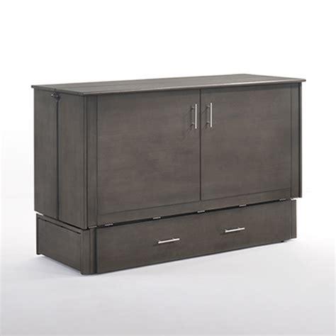 cabinet murphy bed sagebrush murphy cabinet bed w matt generations home