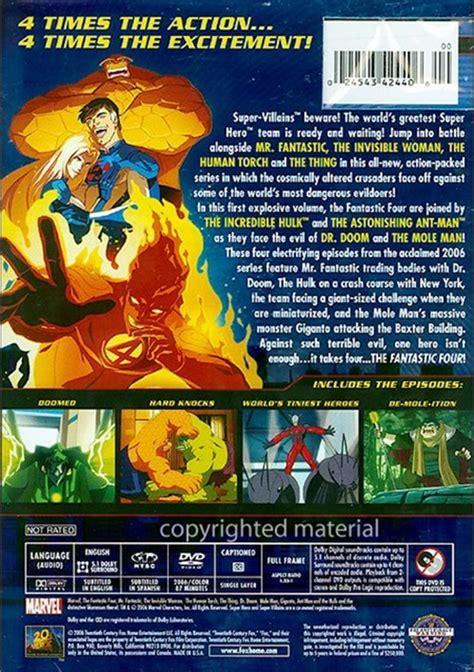 Heroes Volume 1 fantastic four world s greatest heroes volume 1 dvd
