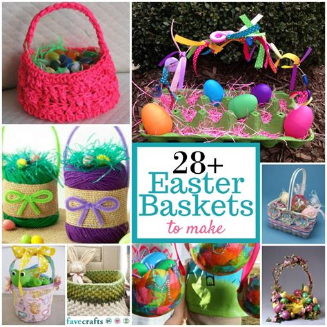 easter ideas diy easter basket ideas 28 easter baskets to make