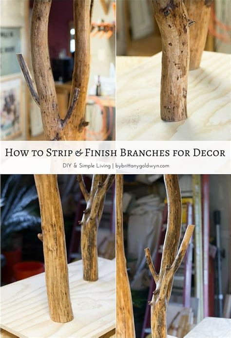 How To Preserve Tree Branches For Decoration by De 25 Bedste Id 233 Er Inden For Tree Branches P 229
