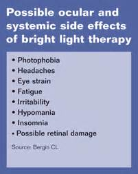 light therapy side effects ocular mechanism key to light therapy for seasonal