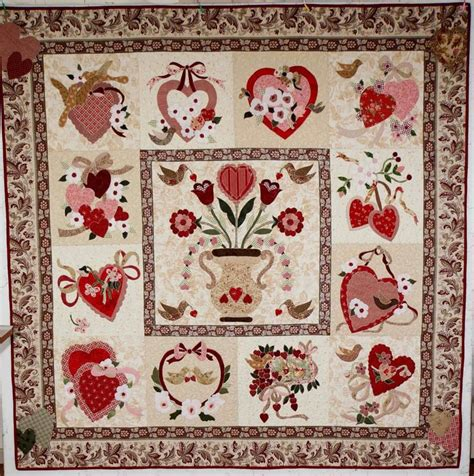 vintage valentine pattern 17 best images about vintage valentine quilt on pinterest