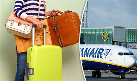 cabin baggage for ryanair ryanair baggage allowance how much can i take travel