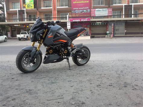 honda msx125 thailand msx125 แต งเท บาดใจในส แรมโบ webike thailand
