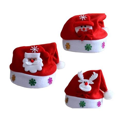 2017 kids christmas sale santa claus snowman elk