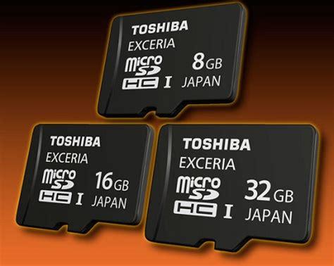 Memory Card Toshiba Exceria 32gb Micro Sd Uhsi Class 10 48mb T1310 5 toshiba launches microsdhc uhs i exceria product legit reviews