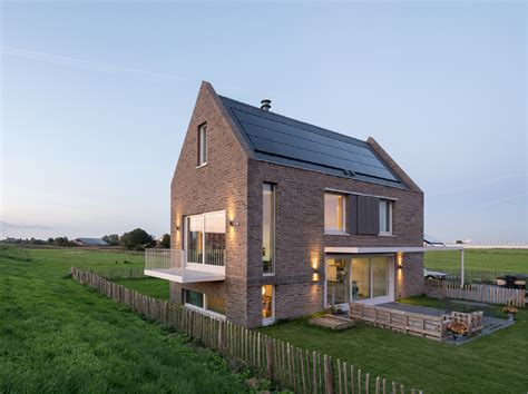dutch house three story single family modern house design with traditional exterior appearance