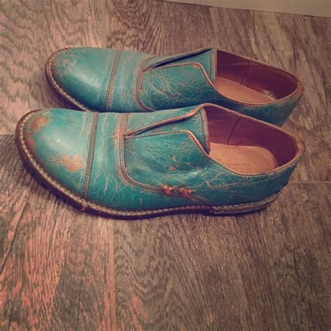 turquoise oxford shoes 51 bed stu shoes bedstu turquoise oxford shoes from