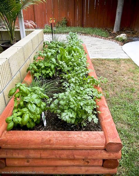 Raised Vegetable Planters by Diy Log Cabin Style Raised Bed Vegetable Planter
