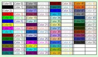 excel 2003 2007 colorindex 56 excel colors colors56