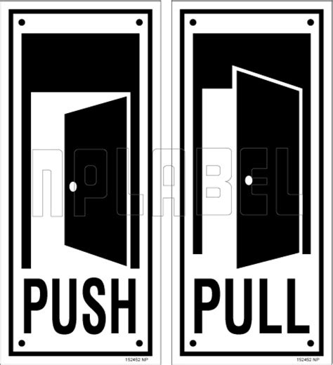 New Sticker Tempelan Wall Sticker Sticker Push Pull push pull stickers glass door india kamos sticker