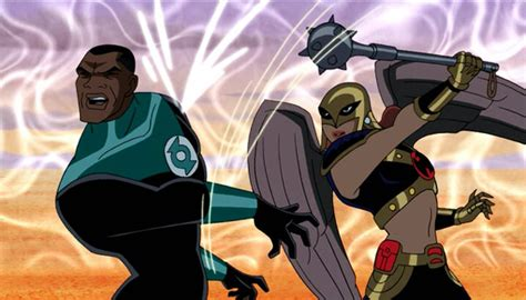 justice league film hawkgirl justice league season 2 review and episode guide