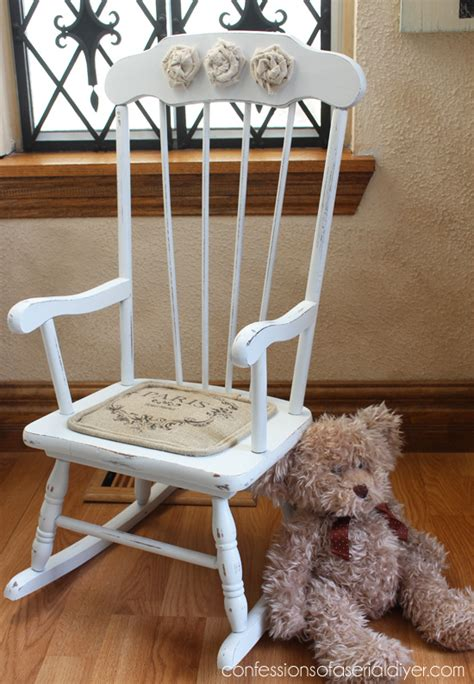Shabby Chic Rocking Chair by Shabby Chic Rocking Chair Hometalk
