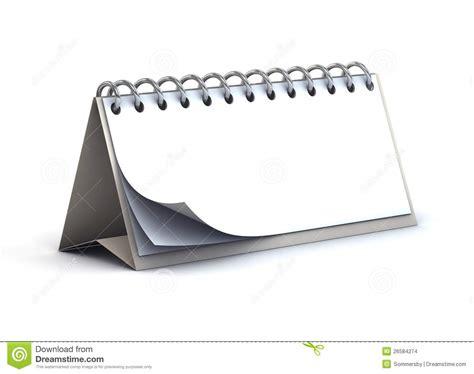 blank desk paper calendar stock images image 26584274